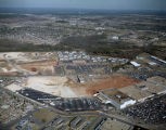 Aerial view of the McGehee Place Shopping Center and the Montgomery Mall off McGehee Road in...