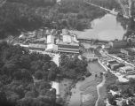 Aerial view of the Continental Gin Company in Prattville, Alabama.