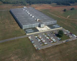 Aerial view of the Dan River Mills plant in Benton, Alabama.