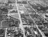 Aerial view of Demopolis, Alabama.