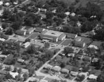 Aerial view of the Elks Memorial Center, an assisted living facility on Chisolm Street in...