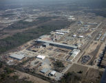 Aerial view of AESCO Steel at 1085 Parker Street in Montgomery, Alabama.
