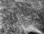 Aerial view of a neighborhood off of Carter Hill Road in Montgomery, Alabama.