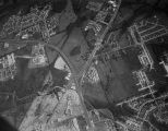 Aerial view of the intersection of McGehee Road, East South Boulevard, Eastern Boulevard, and the...