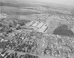 Aerial view of the Hazel-Atlas Glass division of the Continental Can Company on Lower Wetumpka...