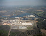 Aerial view of the Hammermill Paper Company plant at Selma, Alabama.