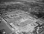 Aerial view of the Cloverland Shopping Center on South Court Street in Montgomery, Alabama.