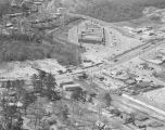 Aerial view of Atlanta Highway in Montgomery, Alabama, at the intersections with West Wareingwood...