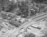 Aerial view of the Wareingwood apartments at the intersection of West Wareingwood Drive and...