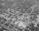 Aerial view of the Murphy Oil Company at the corner of of Broad Street and Voeglin Avenue in...
