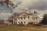 Lowndes County courthouse in Hayneville, Alabama.