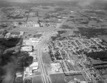 Aerial view of Eastern Boulevard in Montgomery, Alabama, looking south at the intersection with...