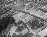 Aerial view of Pelham, Shell and Leckie furniture manufacturers at 1919 Bell Street in Montgomery,...