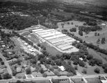 Aerial view of Rosemont Greenhouses at 2430 Carter Hill Road in Montgomery, Alabama.