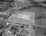 Aerial view of Vaughn Road School at 4407 Vaughn Road in Montgomery, Alabama.