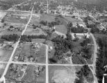 Aerial view of Pell City, Alabama.