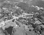 Aerial view of Springville, Alabama.