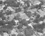 Aerial view of the Montgomery Public Library on High Street in Montgomery, Alabama.