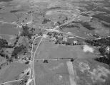 Aerial view of Harpersville, Alabama.