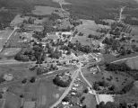 Aerial view of Wilsonville, Alabama.