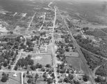 Aerial view of Calera, Alabama.