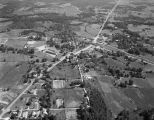 Aerial view of Vincent, Alabama.