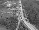Aerial view of Alabaster, Alabama.