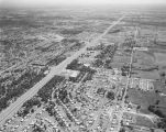 Aerial view of East South Boulevard in Montgomery, Alabama.