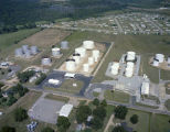 Aerial view of Southern Facilities, Inc., at 420 Hunter Loop Road in Montgomery, Alabama.
