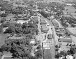 Aerial view of Camp Hill, Alabama.