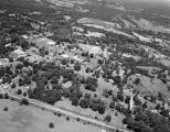 Aerial view of Livingston State Teachers College in Livingston, Alabama.