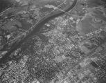Aerial view of Tuscaloosa, Alabama.
