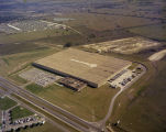 Aerial view of the Western Electric material management center on the Selma Highway in Montgomery,...