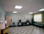 Television room of the Golden Dawn Nursing Home, possibly in or near Montgomery, Alabama.
