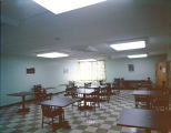 Interior of the Golden Dawn Nursing Home, possibly in or near Montgomery, Alabama.