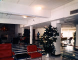 Lobby of the Downtown Nursing Home at 519 South McDonough Street in Montgomery, Alabama.