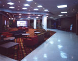 Lobby of Goodwyn Hall at Auburn University at Montgomery in Montgomery, Alabama.