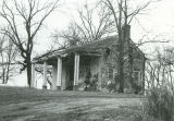 East side elevation of the Snedecor House near Clinton, Alabama.