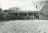 Front of the Storey House in Mantua, Alabama.
