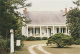 Woodlands Plantation House (Frederick Blount Plantation) on U.S. Highway 84 in Gosport, Alabama.