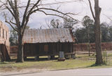 Outbuildings near the Mixon Farm in Elba, Alabama.