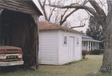 Garage and outbuilding on the Mixon Farm in Elba, Alabama.