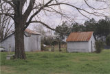 Outbuildings on the Mixon Farm in Elba, Alabama.