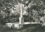 Abraham Ricks monument at the LaGrange Cemetery in Colbert County, Alabama.