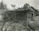 Outbuilding of the Asa Johnston House in Johnstonville, Alabama.