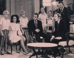 Governor George and Cornelia Wallace on the Dick Cavett Show.