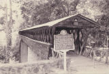 Clarkson Covered Bridge in Cullman, Alabama.