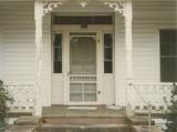 Front door of the Dowling-Murphree House at 311 Owens Street in Ozark, Alabama.