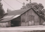 "Barn on the property of the Franklin Dubose House (""Rural Retiricy"") in Burnsville,..."