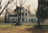 House in the historic district of Summerfield, Alabama.